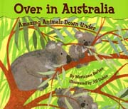 "thumbnail image of ""Over in Asutralia"" a chlidren's counting book."