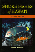 Shore fishes of Hawaii cover